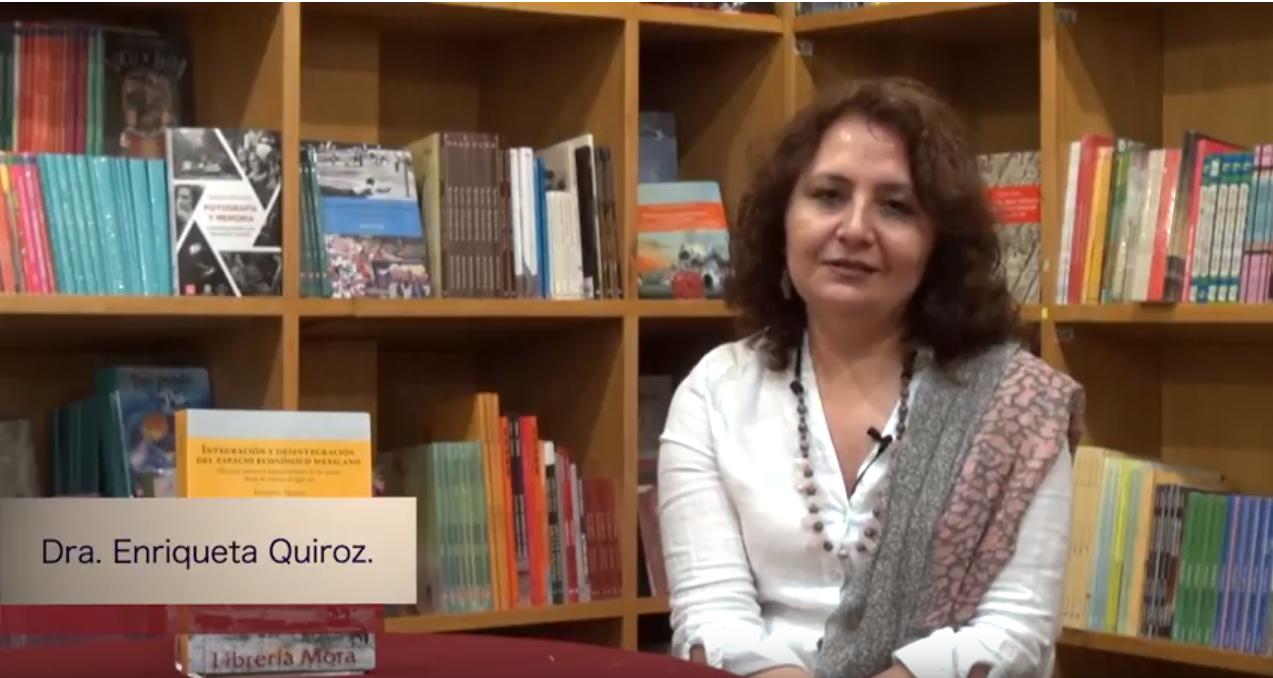 Conoce a nuestros autores. Dra. Enriqueta Quiroz