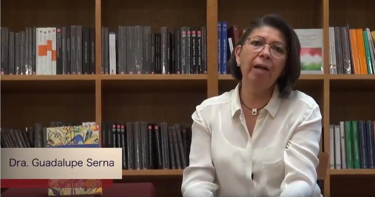 """Conoce a nuestros autores. """"Entre caridad y solidaridad"""". Dra. Guadalupe Serna."""
