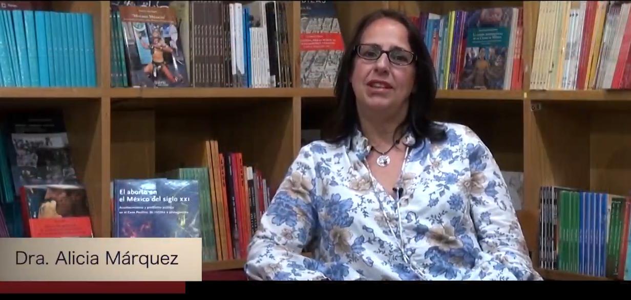 Conoce a nuestros autores. Dra. Alicia Márquez.